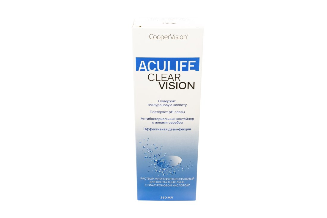 Раствор ACULIFE Clear Vision 250 мл New!